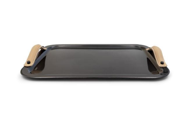 Derby Tray Medium – Antique Black Product Image