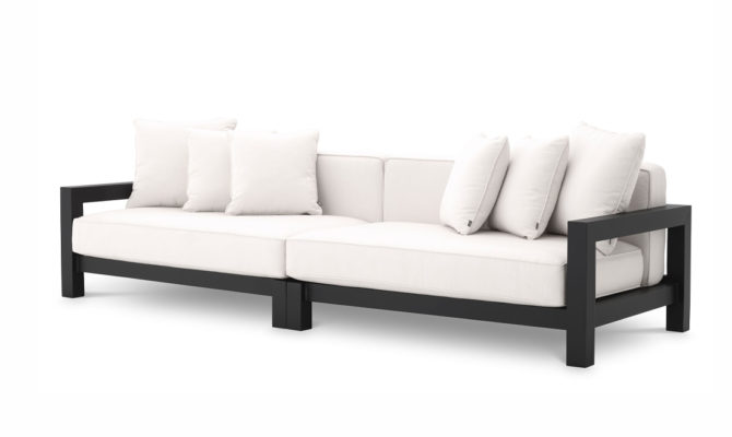 Cap-Antibes Sofa – Black Product Image