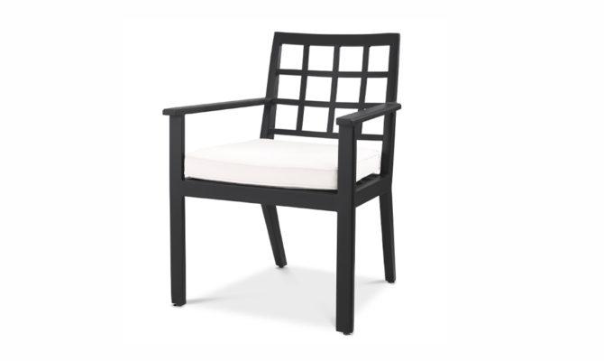 Cap-Ferrat Dining Chair – Black Product Image