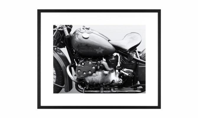VINTAGE MOTORBIKE / PRINT – Q281 Product Image