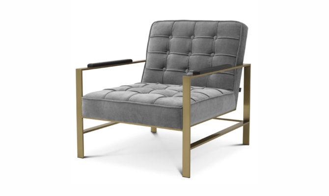 ERNESTO Armchair – grey Product Image