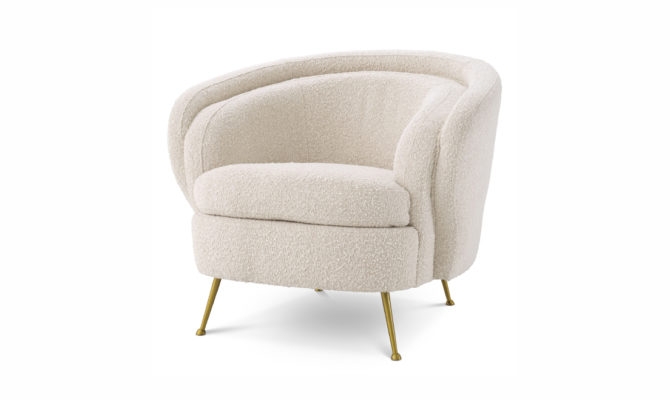Orion Armchair – cream Product Image