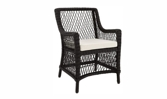 MARBELLA DINING CHAIR / BLACK-TWIST Product Image