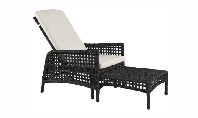 Tampa Lounger – Classic Black Product Image