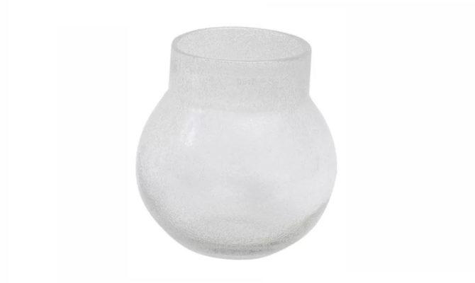 Breb Vase / clear bubbles – 30cm Product Image