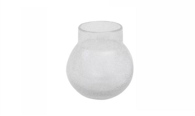 Breb Vase / clear bubbles – 24cm Product Image