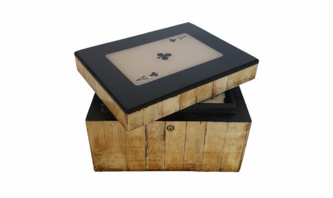 Card Box – Antique Finish Product Image