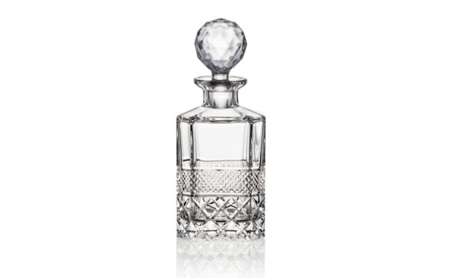 Ruckl Charles IV Whiskey Decanter – Square 800 Product Image