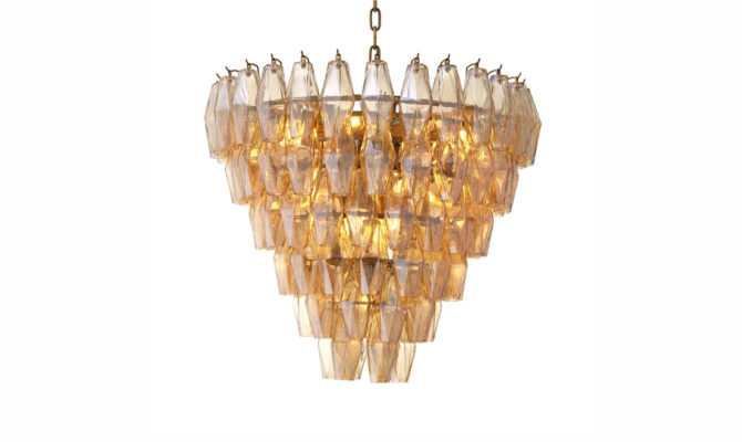 Benini Chandelier – Small – antique brass Product Image