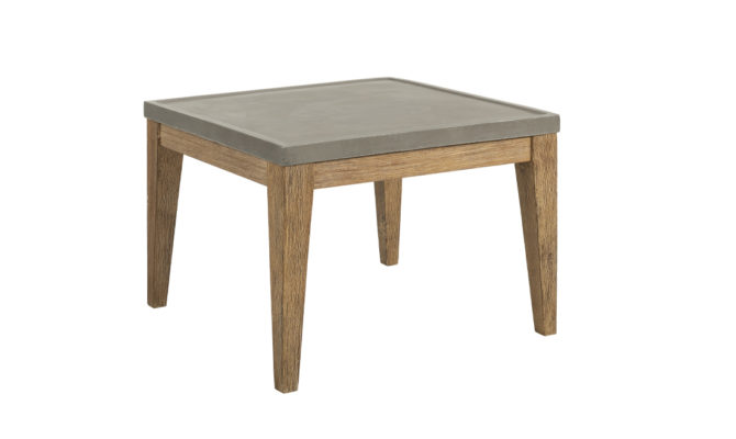 DACOTA SIDE TABLE – Grey Product Image